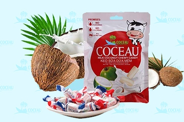 Kẹo sữa dừa mềm